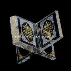 Le Saint Coran en Crystal pour l'Islam Cadeau souvenir