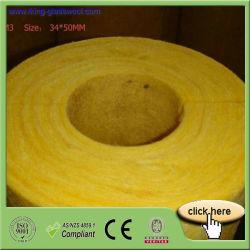 Venta caliente densidad 64kg3 Tubo de lana de vidrio