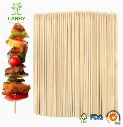 Brochettes de bambou écologique de gros de fruits avec la meilleure qualité