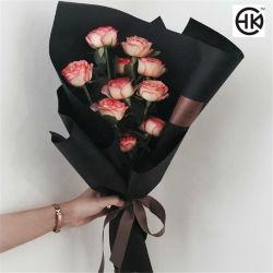 Imprimir Branco 150gsm, Papel preto macio para decoração de flores