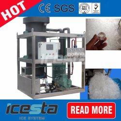 강한 내구성 Bitzer 압축기를 가진 상업적인 산업 5t 관 얼음 만드는 기계