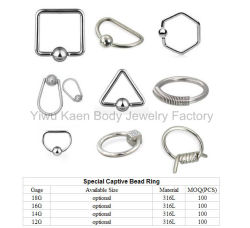 Special Captive Bead Ring