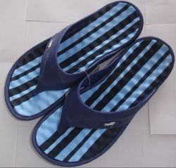 Couro Design OEM Sandals homens chinelos