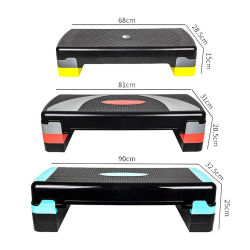 Justierbares Geräten-aerobe Steppereignung tritt Plattform-aerobes Stepper