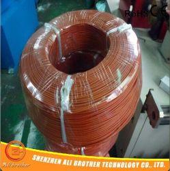 230V 60W/Mの直径2mmの赤のシリコーンゴムの暖房ワイヤー