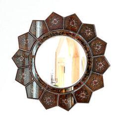 Embalagem de Papelão Banho personalizáveis esmagadas Espelho Diamond Espelho de Parede