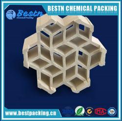Lichte Ceramische Verpakking voor de Toren van de Was, Ceramische Gestructureerde Verpakking
