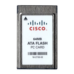 Cisco PCMCIA Memory Card 64MB ATA Flash PC Card