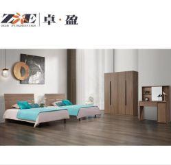 Mobiliario de casa moderna casa de madera MDF Uso Apartamento Villa Single Room Muebles de Dormitorio