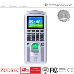 Биометрический считыватель отпечатков пальцев время посещаемости с контроль доступа