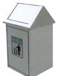 Bandeja de resíduos no interior de metal no exterior