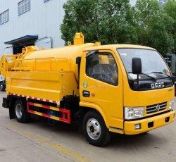 Châssis prix d'usine Dongfeng 8tonne 4X2 Chariot de drainage des eaux usées de vide