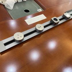 Multi Universal Smart Office horas via alimentação eléctrica do sistema da tomada / esteira elétrica para as tomadas elétricas