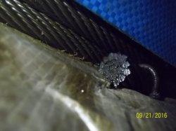Ungalvanized die niet de Kabel van de Draad van het Staal 19X7 voor de Kraan van de Lading van de Haven roteert