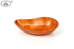 Nahrungsmittelfrucht-Suppe-Salat-Bambus richtet Küche-Ware-Essgeschirr-hölzerne gesponnene Filterglocke an