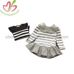 Späteste Partei-Abnützung-Rüsche-Baby-Kleid-Fall-Winter-Kleider