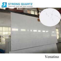Carrara/Calacatta branco /Artificial Projetado Laje de Pedra de quartzo