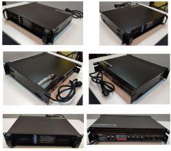 4channel 1300W 8 ohm digital profissional de Lab Gruppen PA AMPLIFICADOR DE ÁUDIO