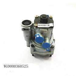 오리지널 Sinotruk HOWO 트럭 예비 부품 트레일러 컨트롤 밸브 Wg9000360525
