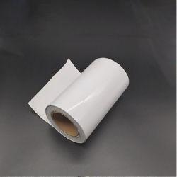 Termoformagem de plástico rígido de cor branca a folha de PVC para embalagem de Medicina
