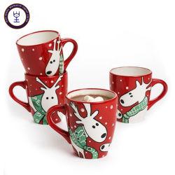 Cadeau de Noël Bonhomme de neige en céramique unique Mugs