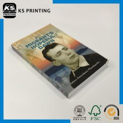 Лучшая цена Custom матовую бумагу с покрытием искусства в мягкой обложке книга собрала печать