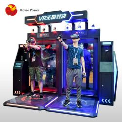 Doppia macchina della fucilazione della galleria di realtà virtuale del gioco di Vr del giocatore