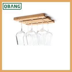 2019 Melhor vender espaço de armazenamento do Vinho Madeira de bambu Titular Rack de madeira