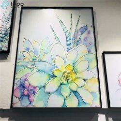 Art Decoration peinture sur verre pour la chambre et salle de séjour (MR-YB6-2056E)