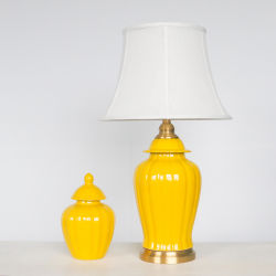 El chino porcelana antigua lámpara de escritorio (LA-341)