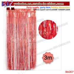 Folie van de Flikkering van het Gordijn van Sparkly schittert de Gouden Zilveren Rode Blauwe Roze Decor van de Partij van het Huwelijk van het Venster van het Gordijn van de Achtergrond van het Klatergoud het Metaal (B6007)