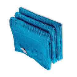 Ventana anti polvo fino Paño de microfibra gofre sueco de limpieza de microfibra toallas toalla