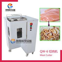 Industrielles frisches Huhn, das Ausschnitt-Maschine, Schweinefleisch-Scherblock (QW-6, schneidet)