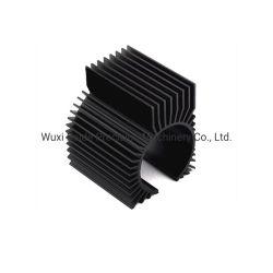 OEM 2PCS/Set het Zwarte Grafische Aluminium die van de Kaart Heatsink CNC koelen die Delen machinaal bewerken
