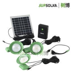 Beleuchtung der ländliches Gebiet-nachladbare Solar Energy Hauptinstallationssatz-LED