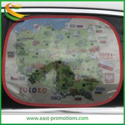 Custom Logo Foldable Side Car Sunshade Voor Promotie