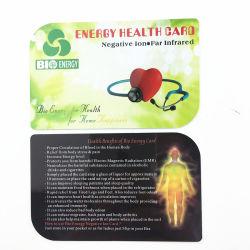 Оптовая торговля пластиковую карту Bio энергии здоровья карту с дешевой цене