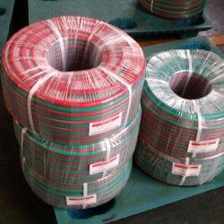 Sonda de oxigénio a borracha de PVC Industrial & Acetileno Mangueira de gás de soldagem Twin