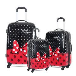Förderung passen Firmenzeichen-neuen Gepäck-Laufkatze-Kind-Mädchen-Koffer an