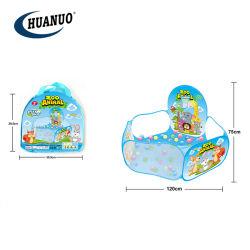 Venda por grosso de plástico novo desporto brinquedos piscina de bolas tenda para crianças
