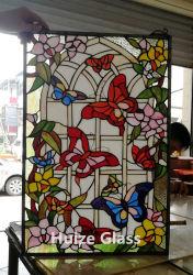 Vidro Igreja artesanal personalizado Tiffany Vitrais Leadlight Painel da janela