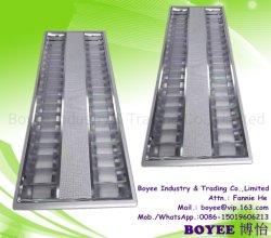 T5/T8/a conduit les éclairages intérieurs de bureau traditionnelles d'aération en surface ou encastré présentoir