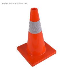 Todos Refletivo Vermelho Estrada flexíveis de PVC de Aviso do Cone de tráfego