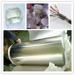 O alumínio/folha de alumínio Efeitos para embalagens de alimentos flexível 1235/8011/8079-O 6.5/9 mícrones