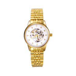 Mens automático reloj de pulsera de metal de negocios