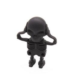 Специальный человеческого скелета флэш-накопитель USB 8 ГБ 16ГБ 32ГБ музыки пользовательские карты памяти Memory Stick