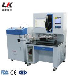 De Apparatuur van het Lassen van de Laser van de Transmissie van de Optische Vezel van de Machine van het Lassen van de Vlek van de Laser van het Geval van het Aluminium van de Batterij van het Lithium van aa