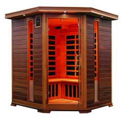 Camera d'angolo di sauna di Infrared lontano per 4 genti con il migliore prezzo