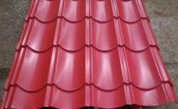 فولاذ يزجّج قرميد لأنّ سقف وجدار