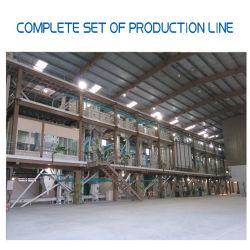 Projet de traitement de broyage de machines agricoles la ligne MIN Machine décortiqueuse de riz de moissonneuse-batteuse